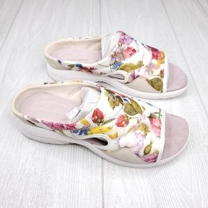 Easy Spirit Seteak2 Floral Slip On Sandals 9